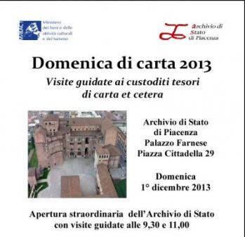 Domeniche di carta 2013